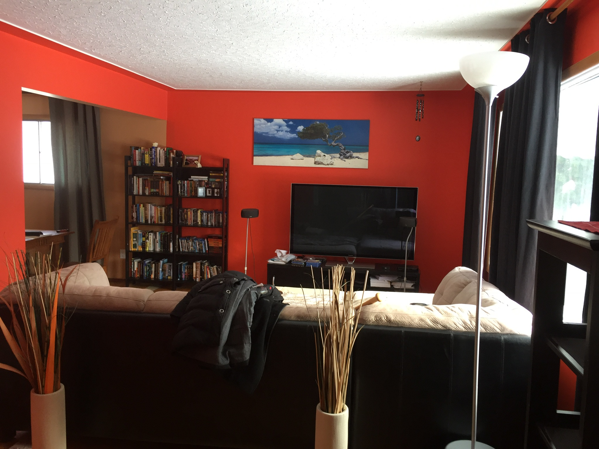 Before - Living Room / Dining Room