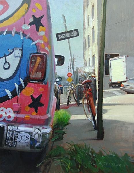 Brooklyn Tableau,  24 x 18 oil on canvas
