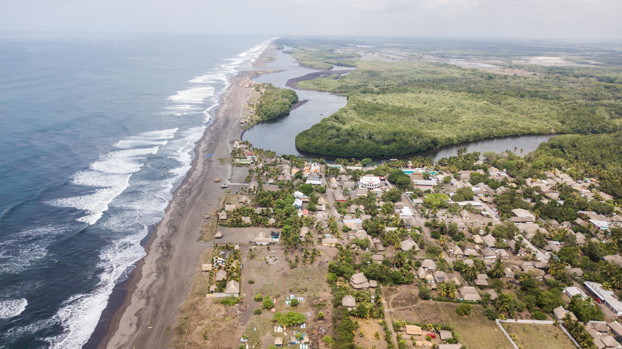 El Paredon Surf Town Beach