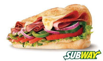 5 Referrals - $10 Subway Voucher