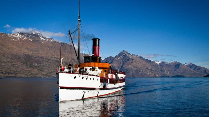 30+ Referrals - Go in the draw to win a night in Queenstown and a ride on the Earnslaw.