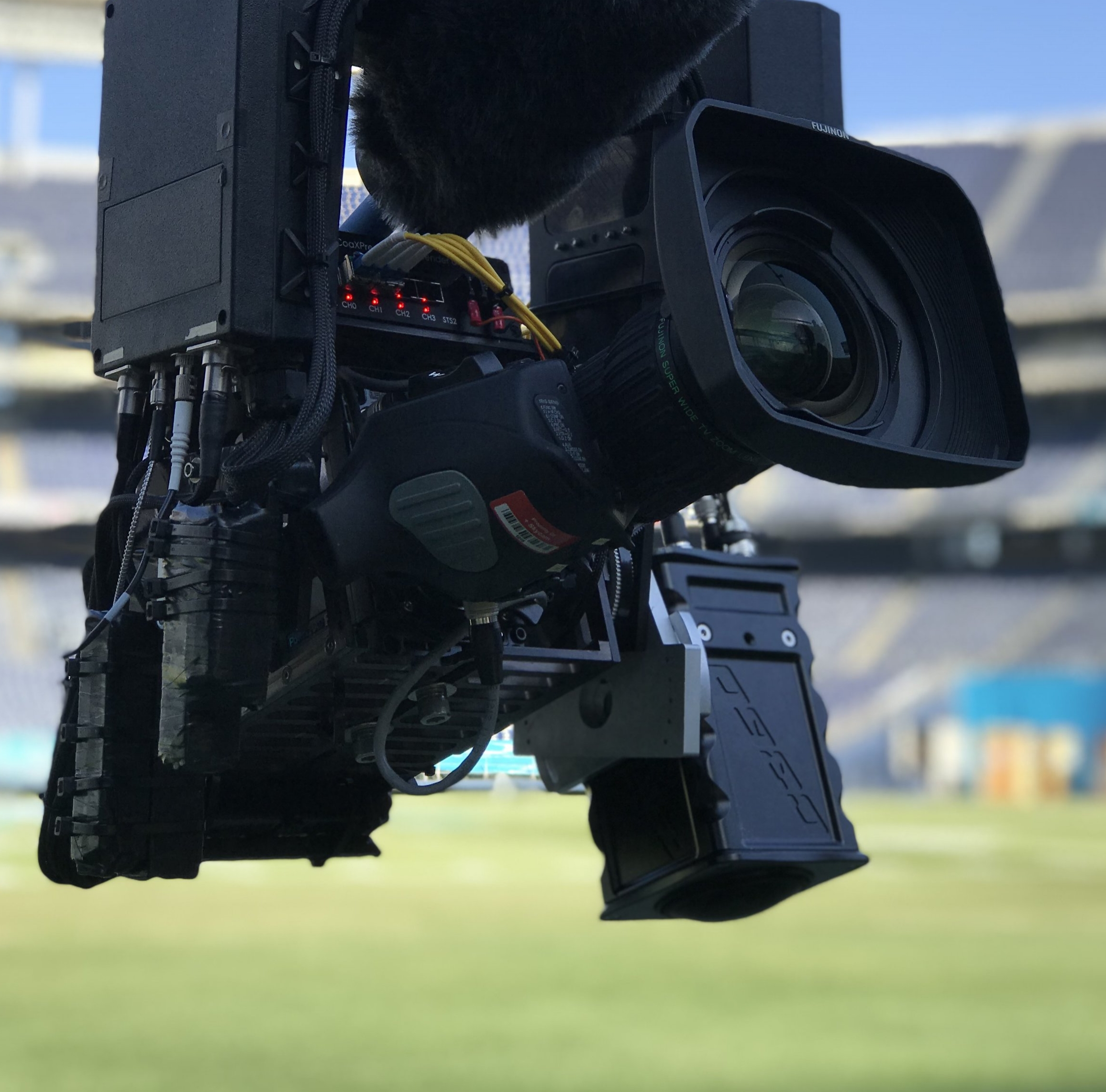 CameraS:10K CaMERA4K MINI CAMERA - 10K Camera / 60fps over fiber (shown on SkyCam)4K Mini / 60fps over fiber or (RF)