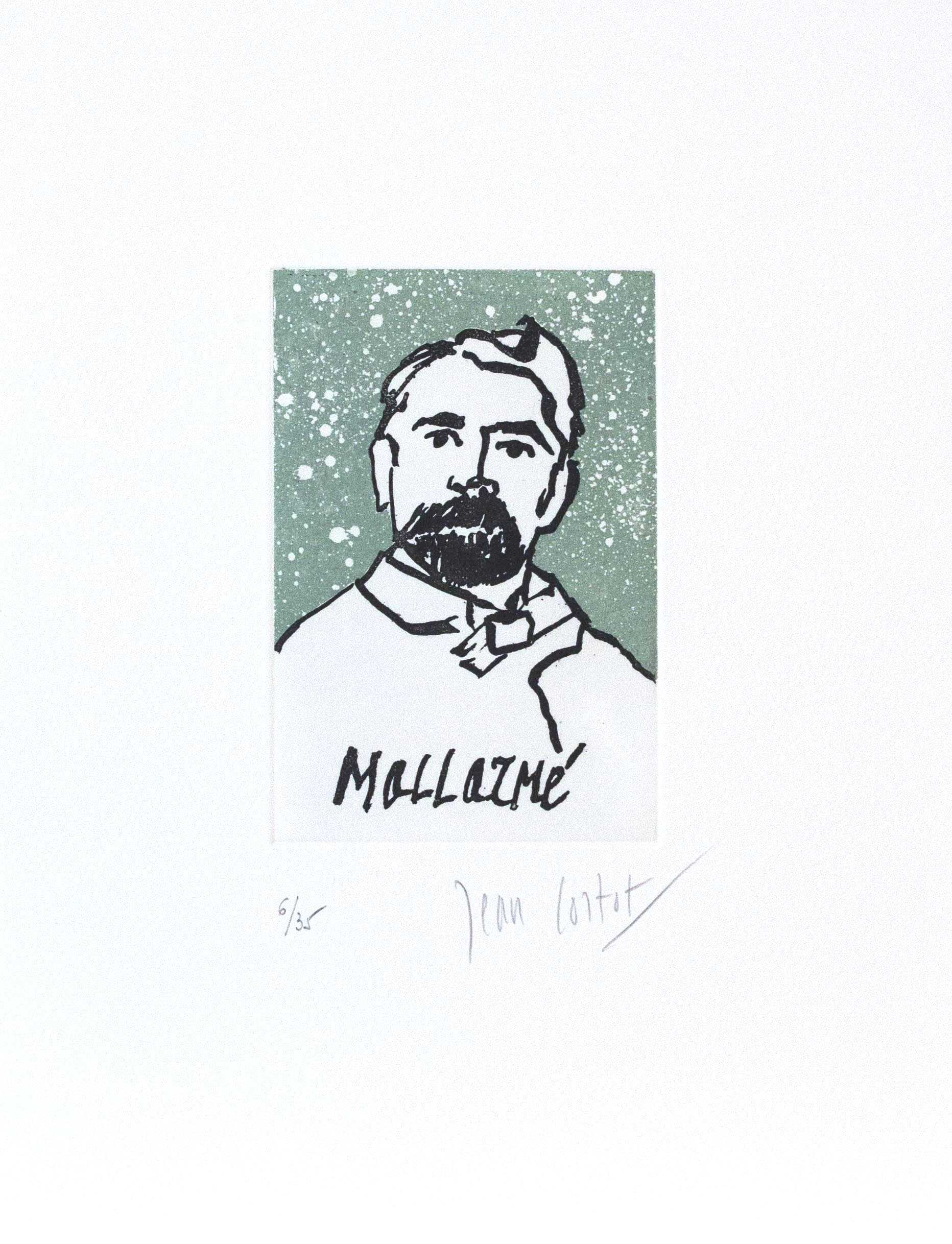 Stéphane Mallarmé,  Original Etching, 2012, 13 x 10 in., Signed and Numbered 13/35