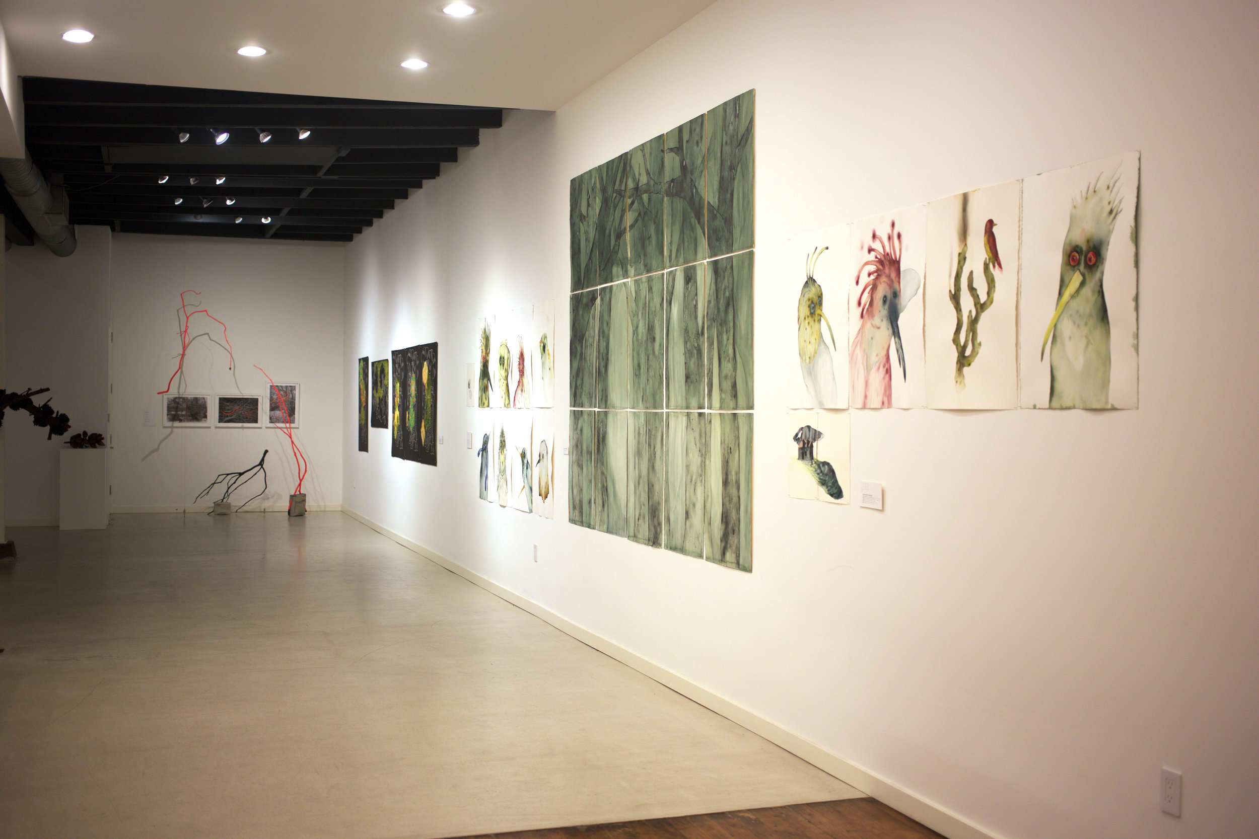 Into the Woods - Installation View