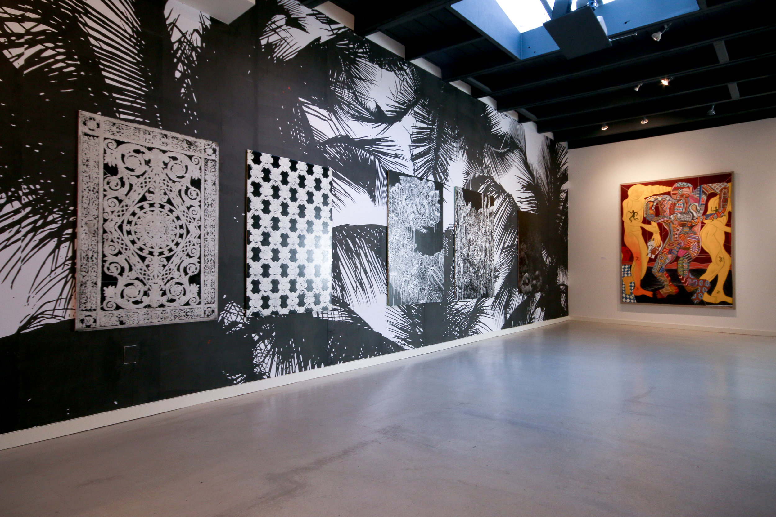 Painting is the Pattern - Installation View