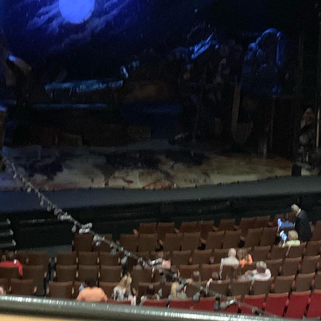Random windfall of theatre tix. #Cats