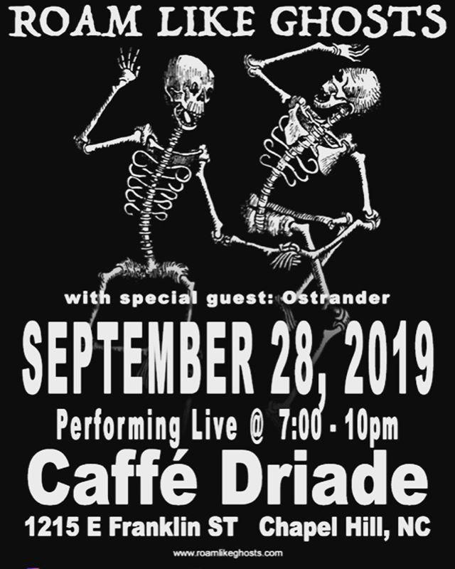 Coffee, wine, beer, bagels and live music....Saturday....saturday...SATURDAY (in September)