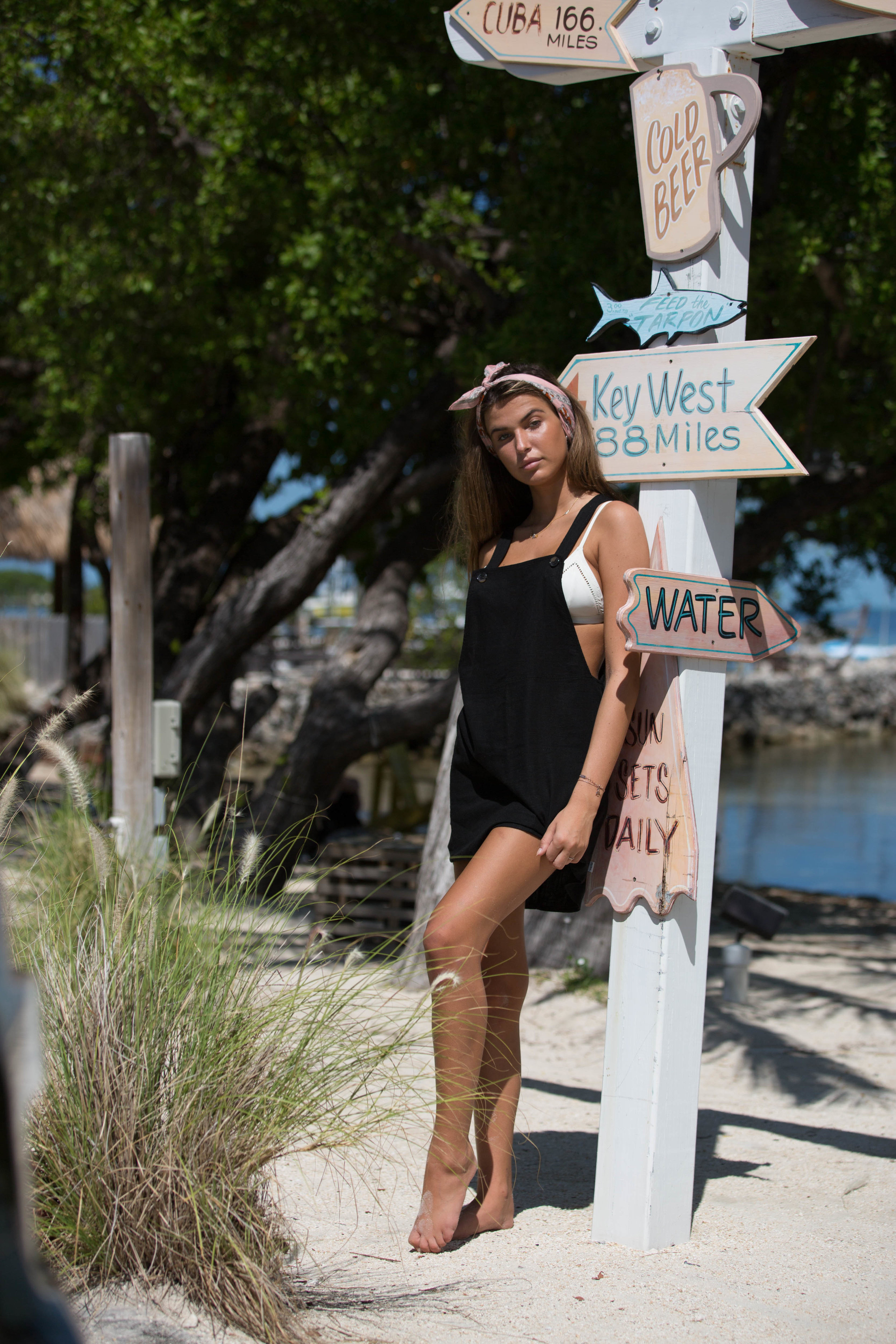 Laguna Pinafore Dress Black 4.jpg