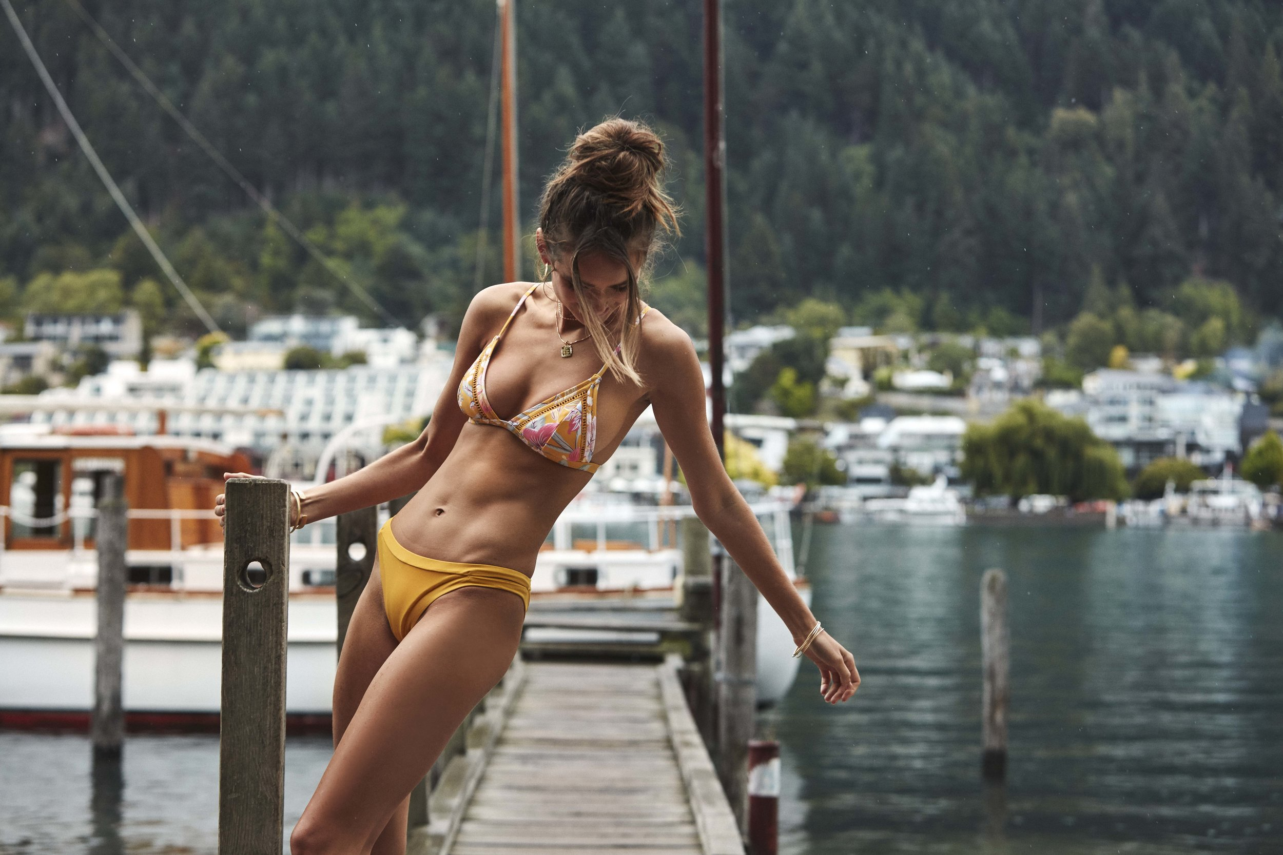 Aruba Bralette Top and Sunchaser Itsy Pant Marigold 2.jpg