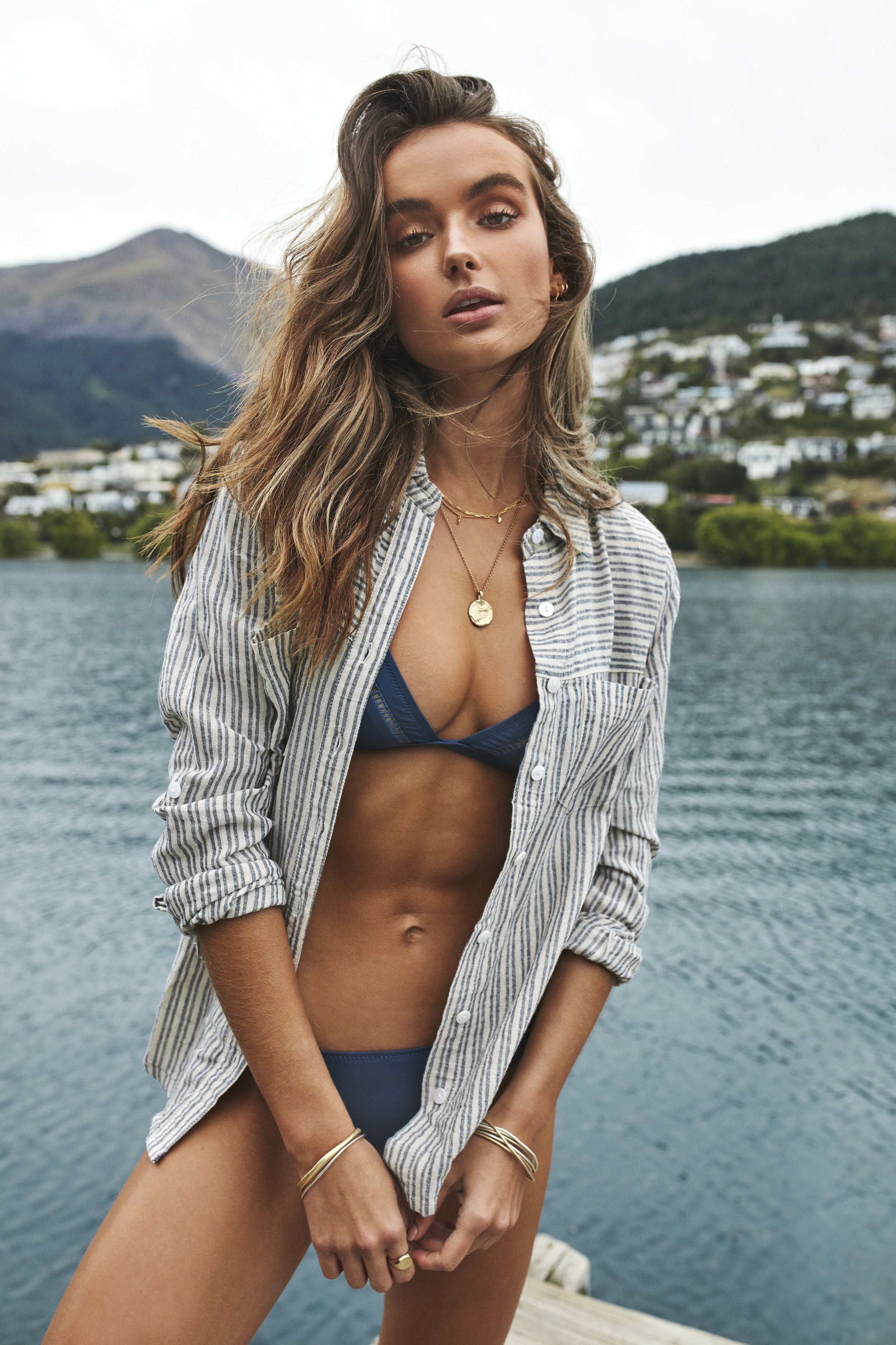 My Bralette Top and Cheeky Pant Sea with Seychelles Top Navy.jpg