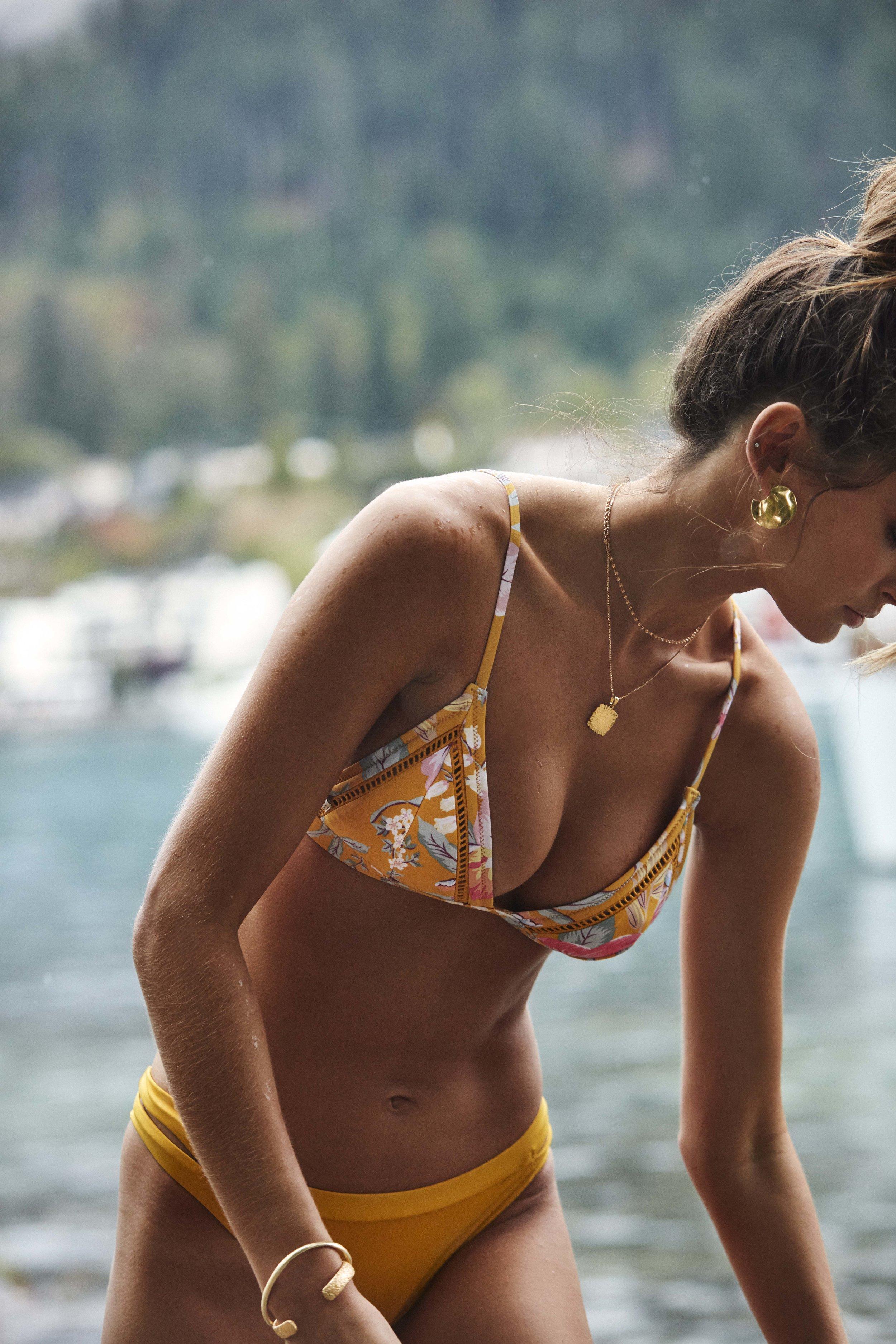 Aruba Bralette Top and Sunchaser Itsy Pant Marigold 1.jpg