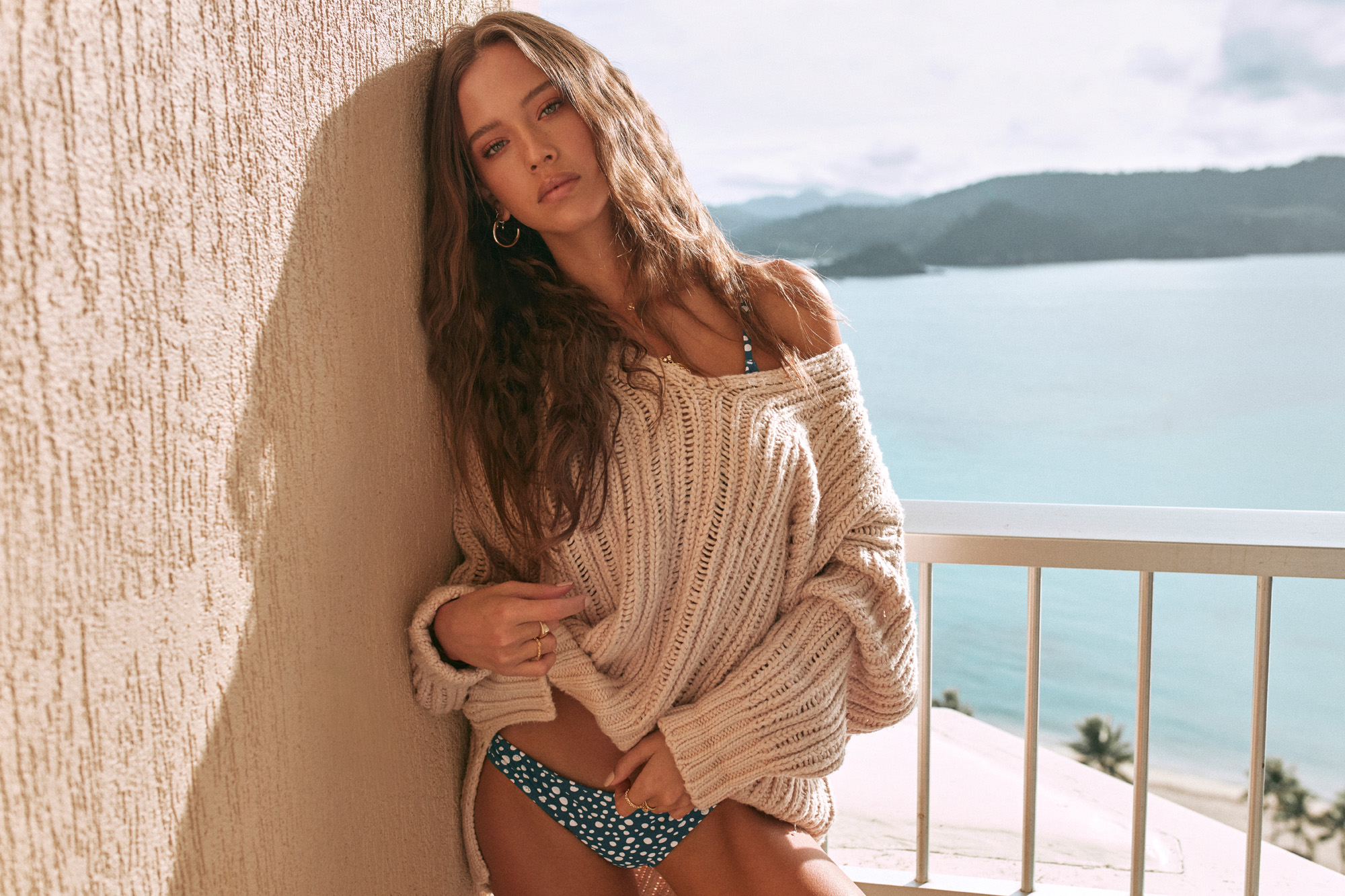 Whistler Knit Sand and Zanzibar Cheeky Pant Pacific 2.jpg