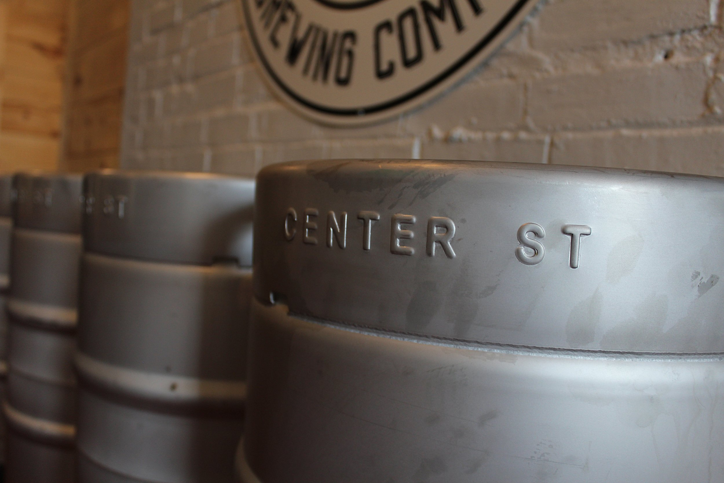 All of our kegs are engraved with the street that influenced our namesake