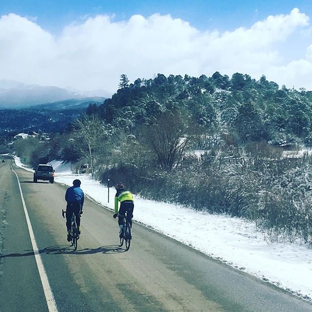 @personalrecordpodcast guest @_shanefinn and host @timothy_clarke83 make there way through the Rockies mountains. Shane plans to bike/run across the country to raise money for @sbhireland. Join us May 4th at the @trimara_sports Less Popular Half Marathon to meet Shane. . . #painisaprocess #personalrecordpodcast #personalrecord #running #brooklynrunner #instarunners #runnerspace #runnersworld #runnerscommunity #podcasts #runnerslife #runhappy #beatyesterday #igrunners #nyrr #halfmarathon #nycrunning #extremerunnerslife #runshots #runitfast #runplanet #triathlon #ironman #endurancesports #nyc #podcast