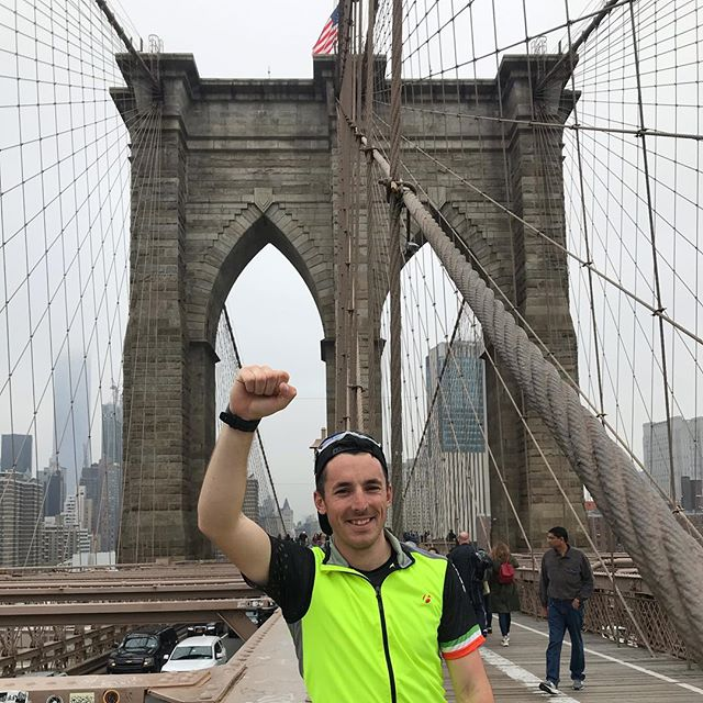 Personal Record Podcast guest @_shanefinn successfully ultra biked/ran his way across America finishing on the #brooklynbridge. He raised money for @sbhireland . . . You can download the episode for free on our website or subscribe for free on Spotify, iTunes , I Heart Radio, Podbean and Google Play (link in bio). . . #painisaprocess #personalrecordpodcast #personalrecord #running #brooklynrunner #instarunners #runnerspace #runnersworld #runnerscommunity #podcasts #runnerslife #runhappy #beatyesterday #igrunners #nyrr #halfmarathon #nycrunning #extremerunnerslife #runshots #runitfast #runplanet #triathlon #ironman #endurancesports #nyc #podcast