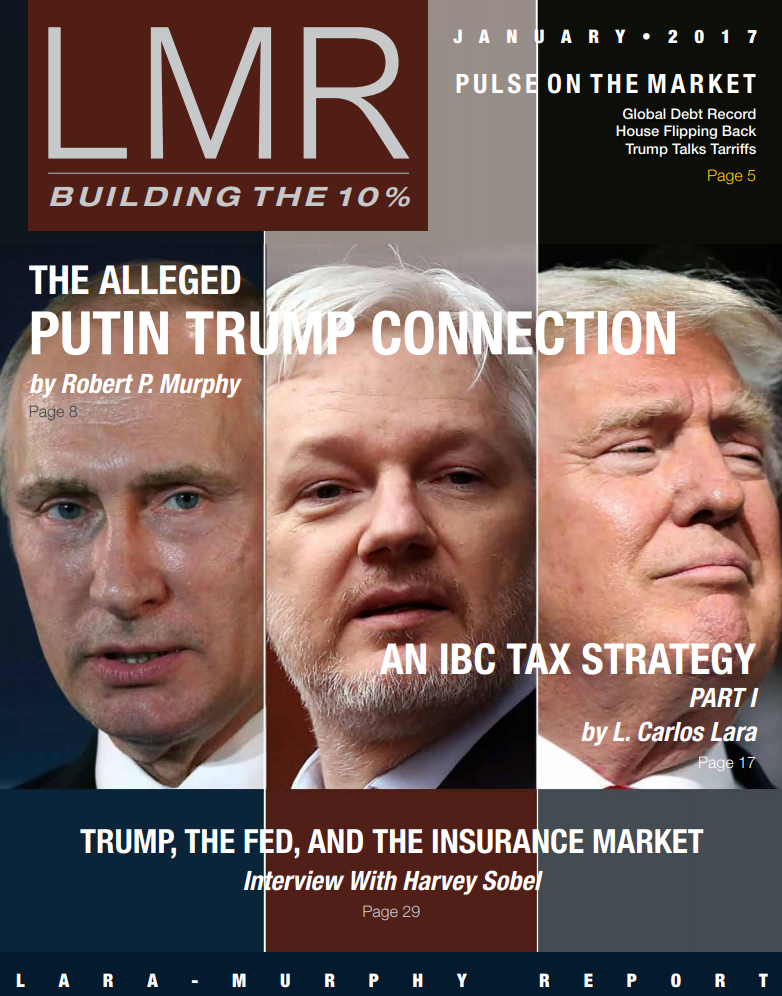 """""""An IBC Tax Strategy,"""" the three-part series, starts in the January 2017 issue"""