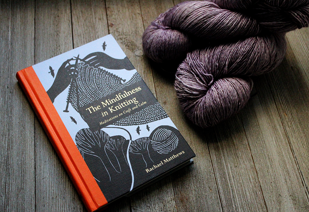 The Mindfulness in Knitting book review - Hannah Thiessen