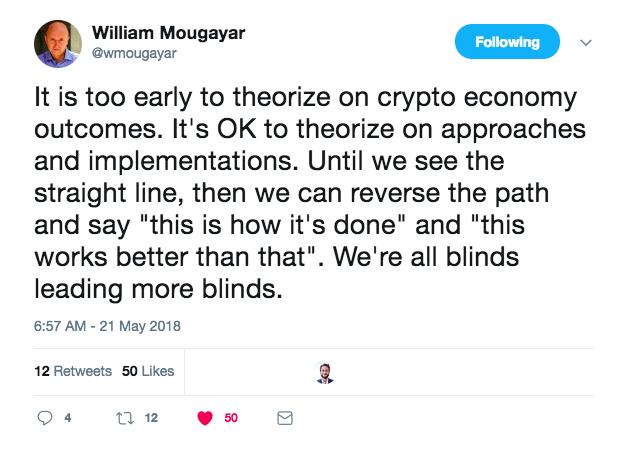 William Mougayar Tweet.png
