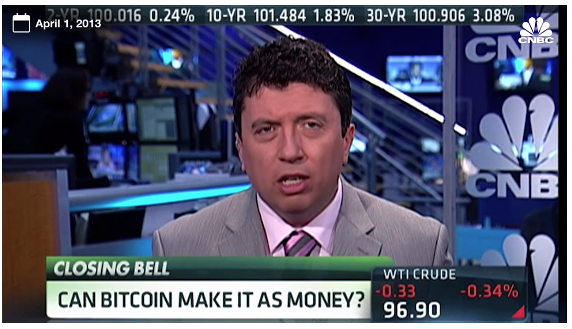 CNBC in April 2013.