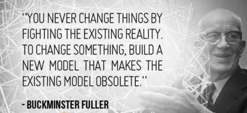Richard Buckminster Fuller was an American architect, systems theorist, author, designer, inventor, and futurist.