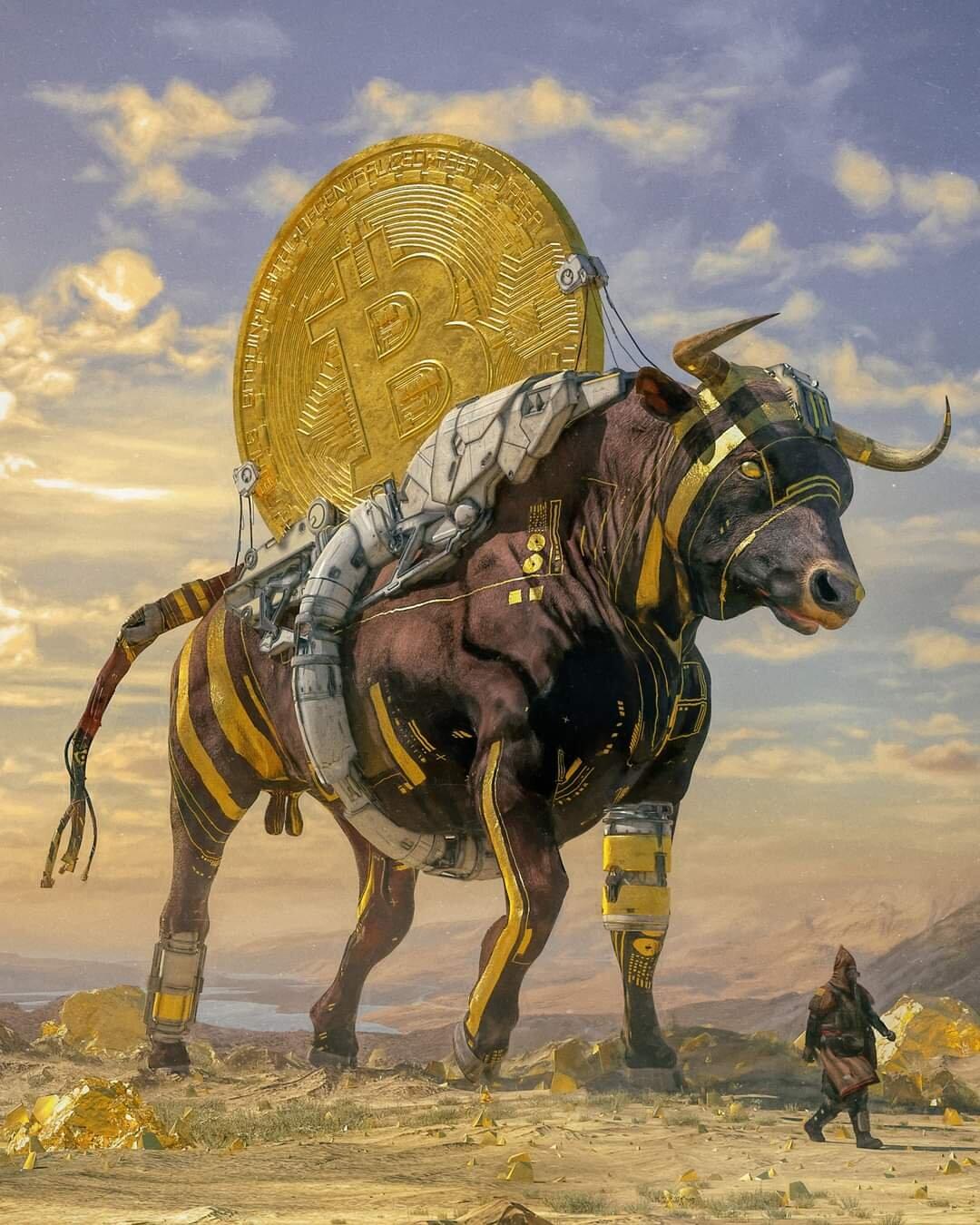 'Bull Run' by Beeple