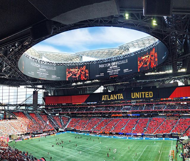 And just like that it's post-season.  Amazing game with a very dear friend. ⚽️ #atlutd