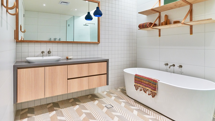 Project by Enoki Design featuring our exclsuive trellis collection