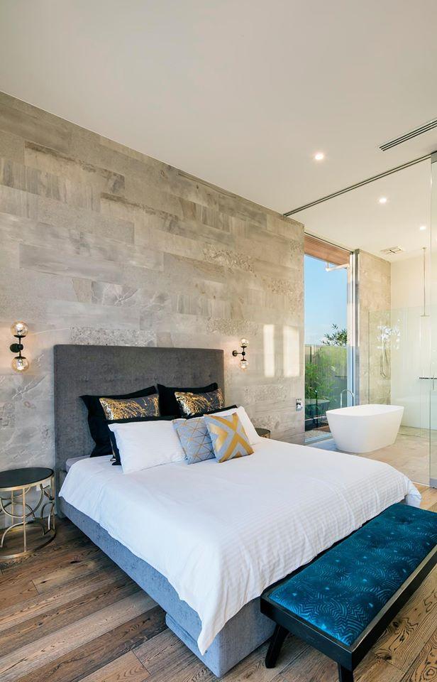 Bedroom feature image - tile used is JUMBLE CEMENTO REC MATT GLZ PCLN R10 (225x900.jpg