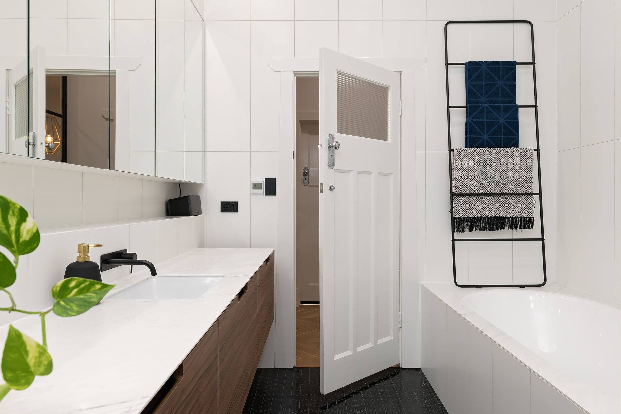 wall - WHITE MATT RECTIFIED (NH9306) 6PCBOX (300x900) & floor - non stock item - Skheme Tiles (1).jpg