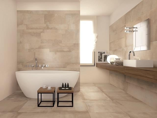 Tile Flooring Trend Warm Colours