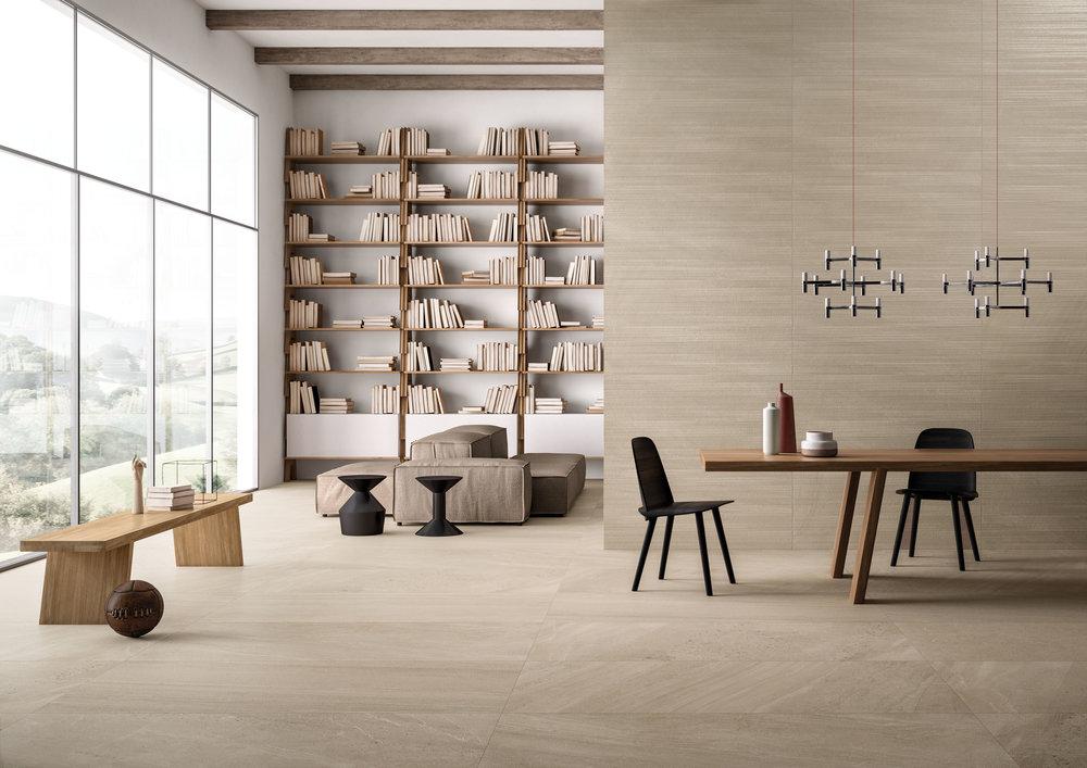 Tile Flooring Trend Earthy Colours