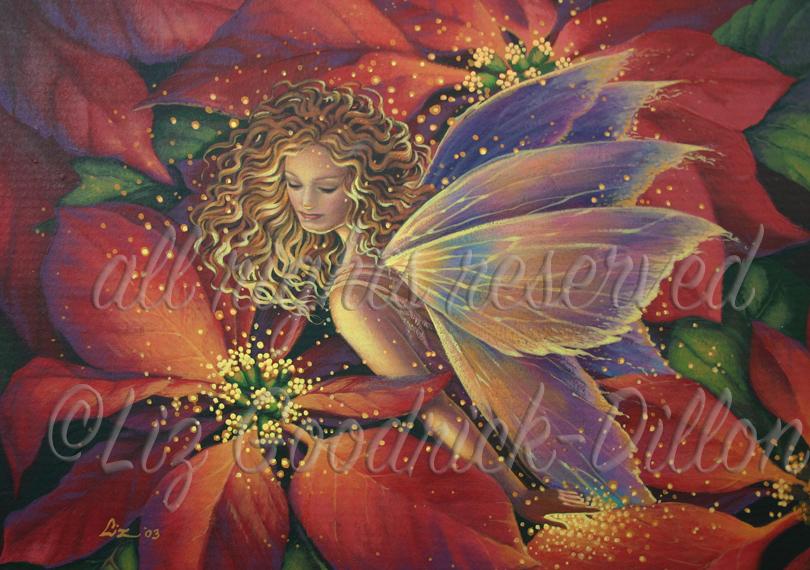 Fairy & Pointsettia