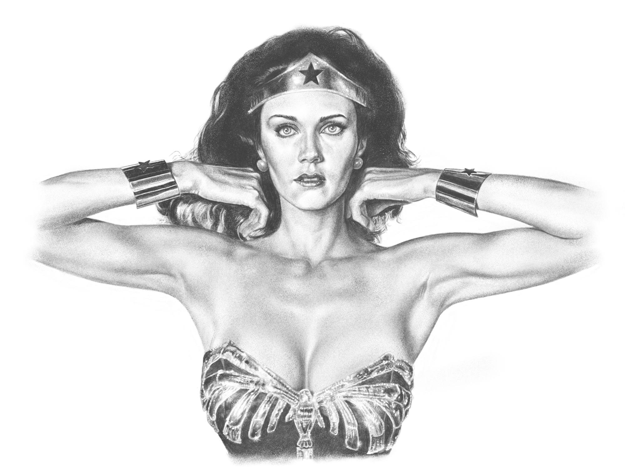 Lynda Carter As Wonder Woman, 2016