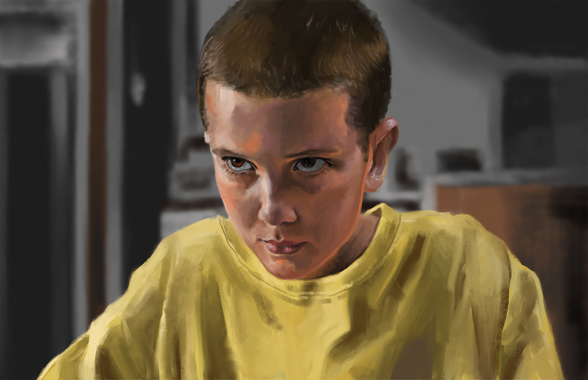 Millie Bobby Brown As Eleven, 2017