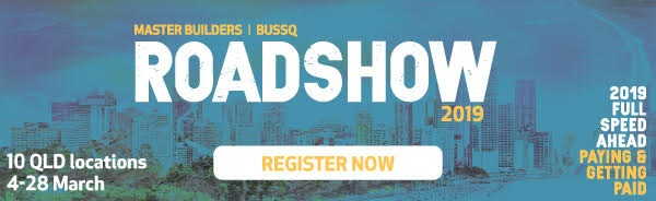 inndox to exhibit at the Master Builders Qld Roadshow - Free entry - members and non-members welcome!