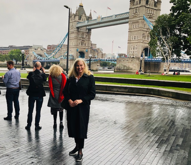 Braved wind & rain to take in the sights of London - The Thames, Monday 10th June 2019