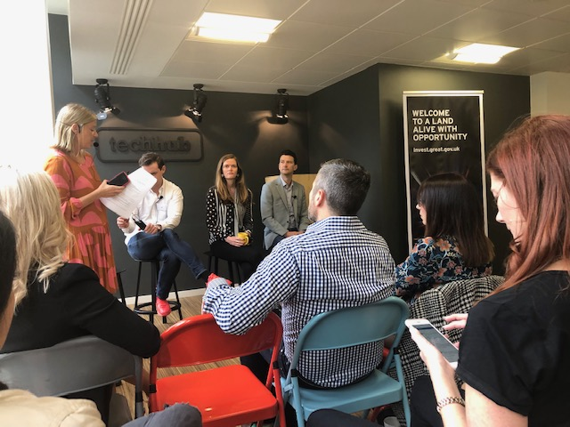 At TechHub London - Three Aussie founders talk about their expansion into the UK, 11th June