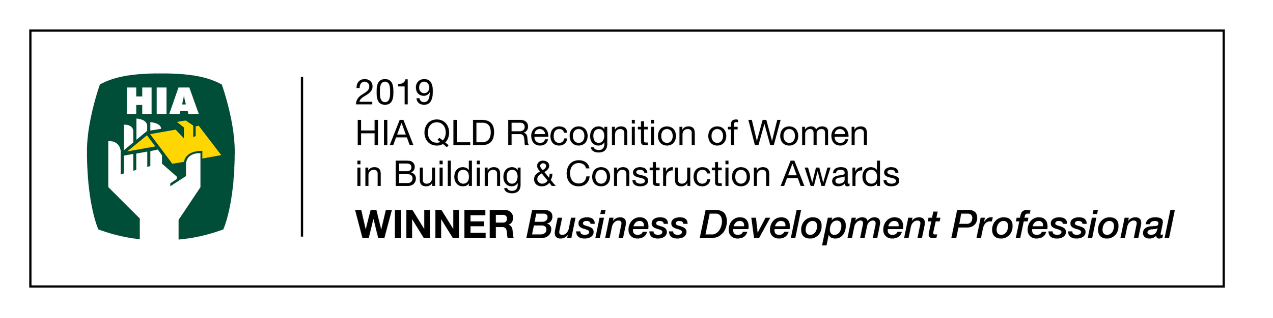 DT8826 HIA QLD Recognition of Women 2019 _WINNER Business Development Pro.png