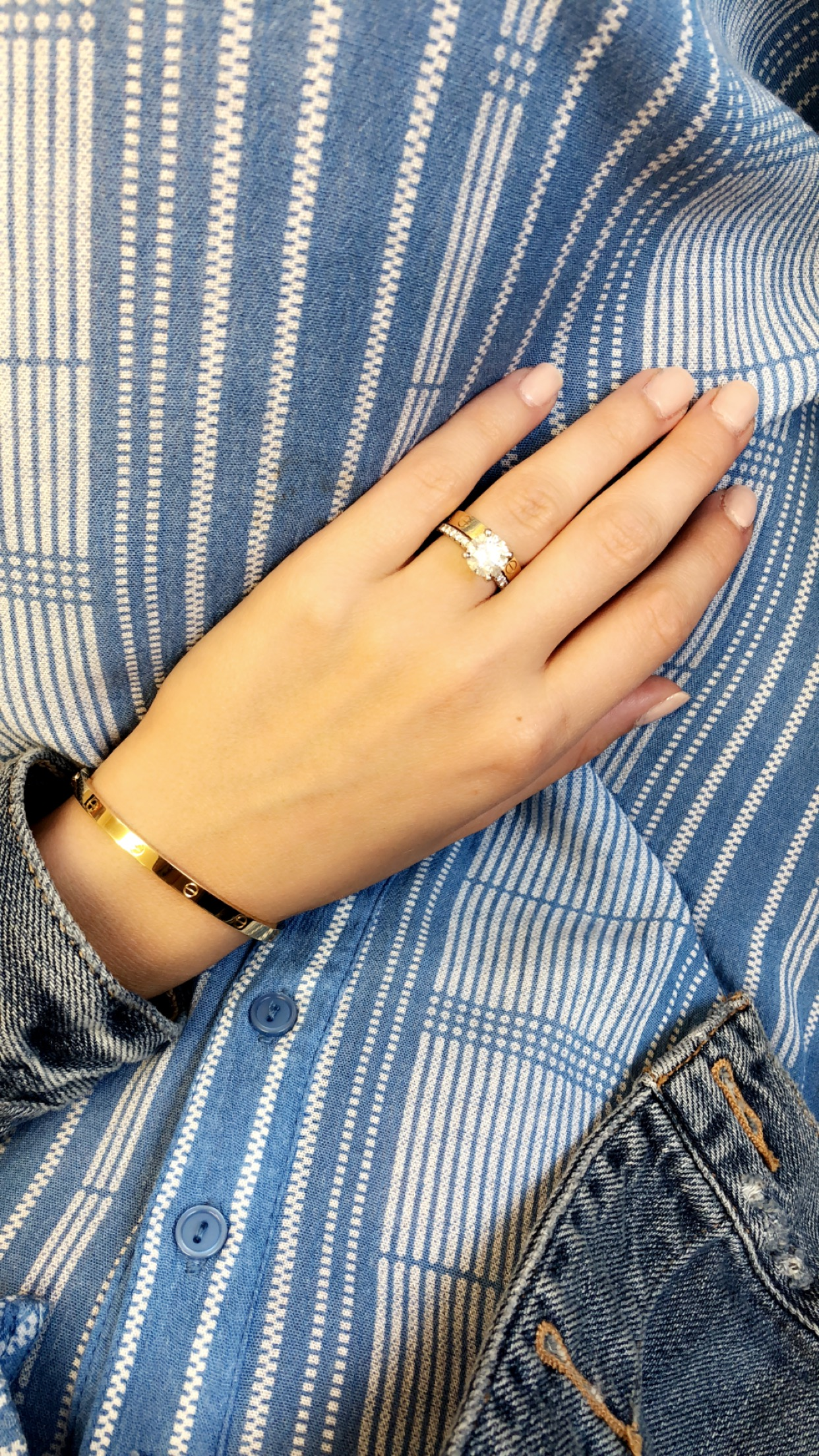 cartier love bracelet and ring, small sia mia.JPG