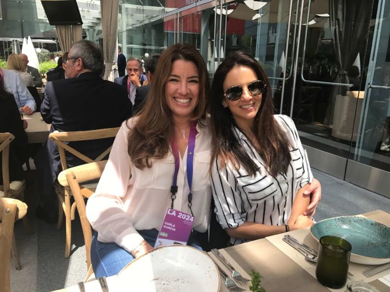 Carla Garcia, Patricia Feau - EC meeting, LA May 2017