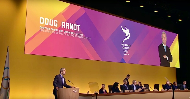 Doug Arnot, Lausanne 2017