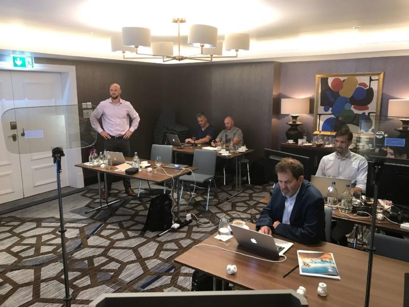 Presentation team/magicians' Workroom, Lausanne