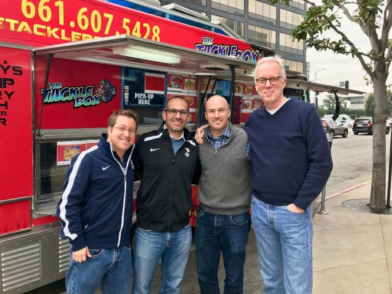 Jeff, Danny, Matt, TB - Food Truck!