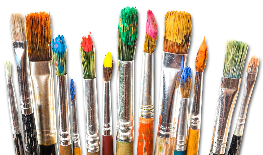 paint brushes - artist