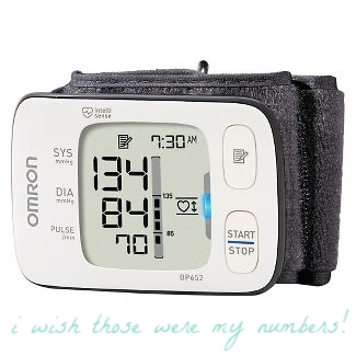 Omron Blood Pressure - POTS