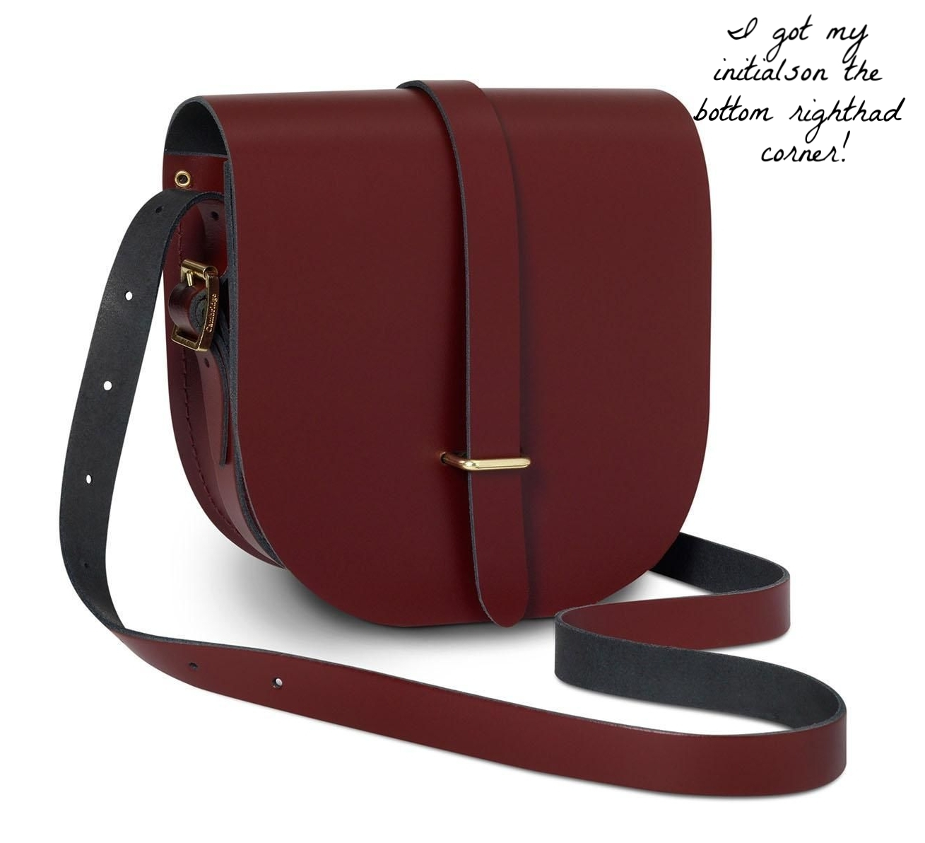 I couldn't find the dark green online but I also love this oxblood red!