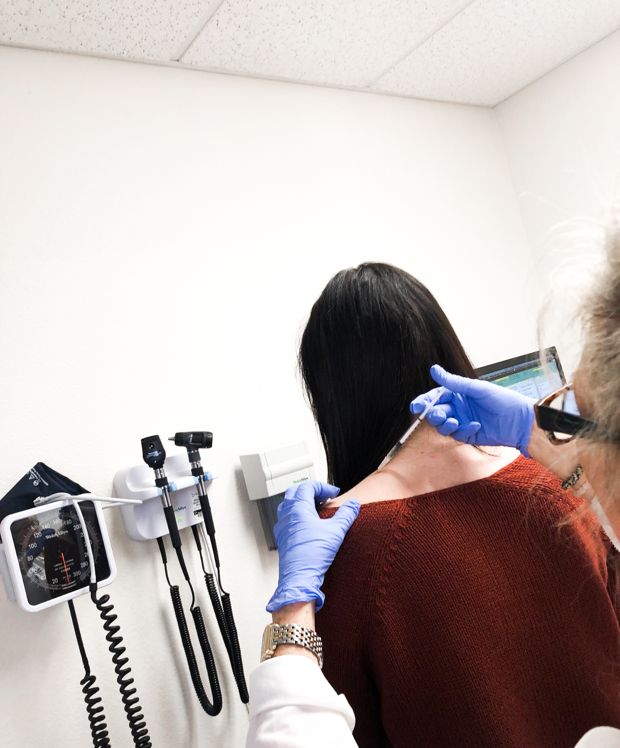 Botox injections for migraines
