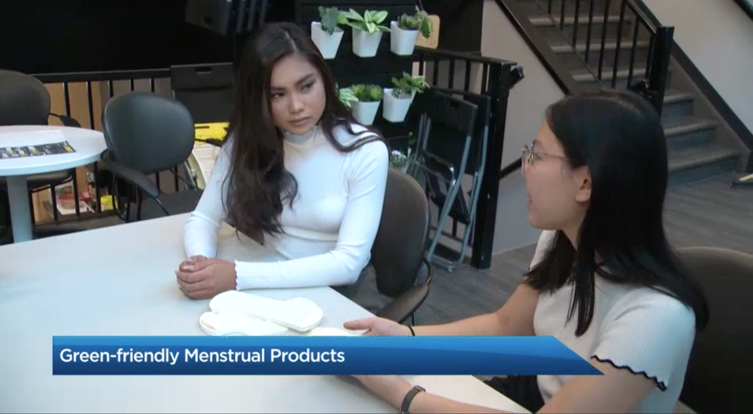 Global News:  U of A students look to convert hemp waste into eco-friendly menstrual products