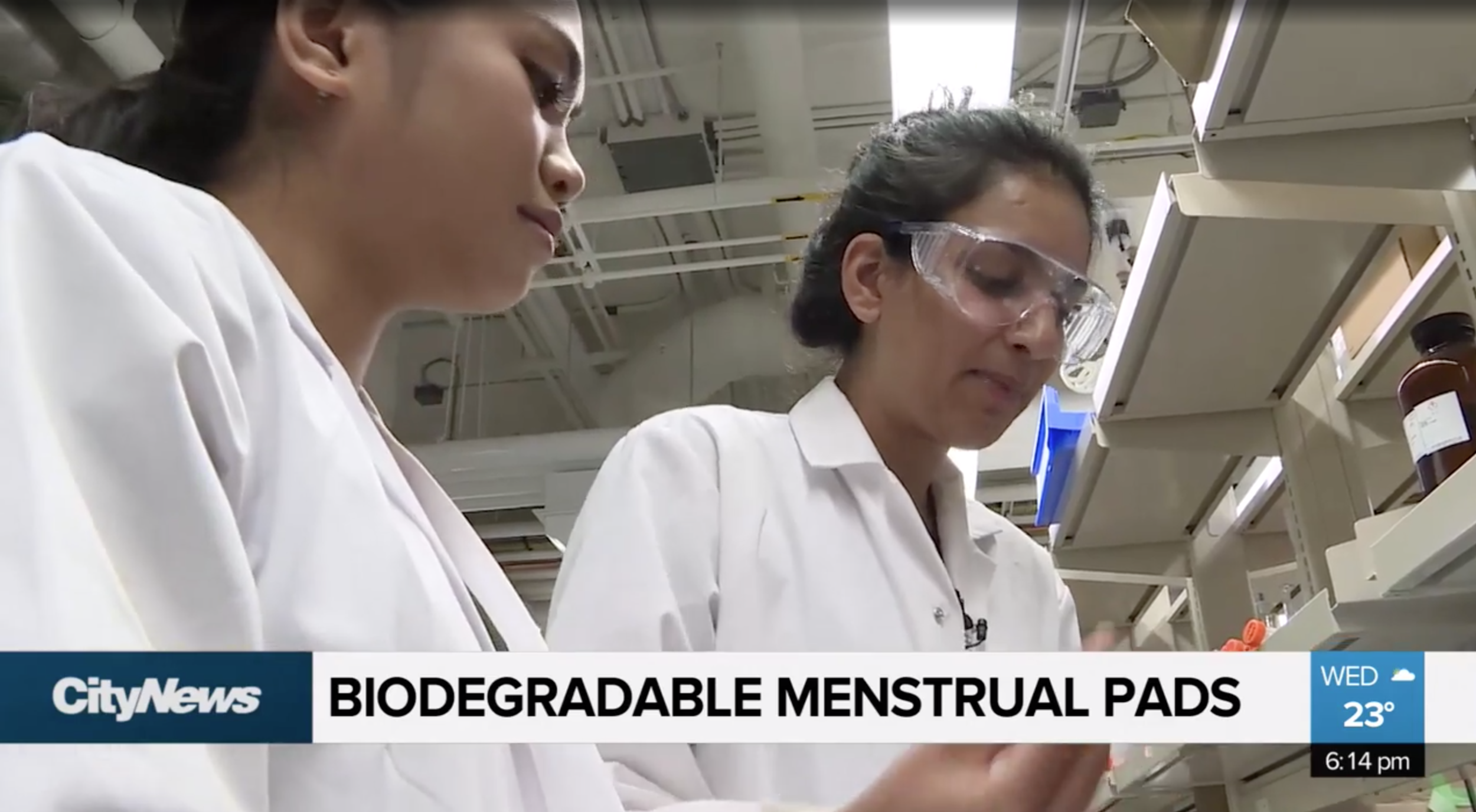 CityNews:  Are biodegradable pads the future of menstrual products?
