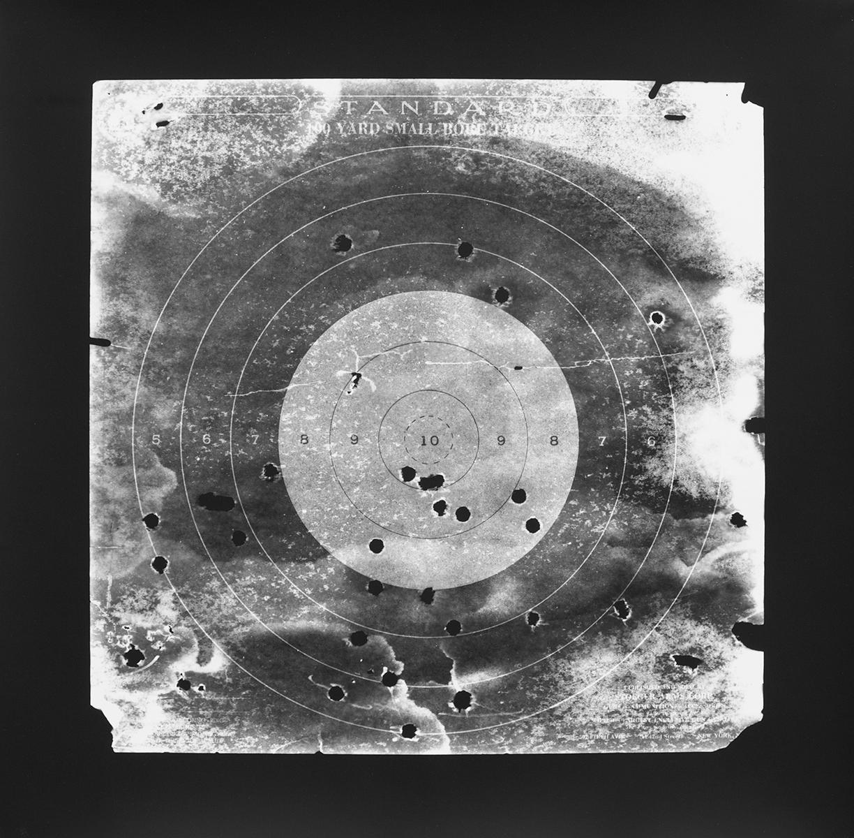 Target I  , 2016 Silver gelatin print photogram 14 x 14 inches Ed: 3 + 2AP